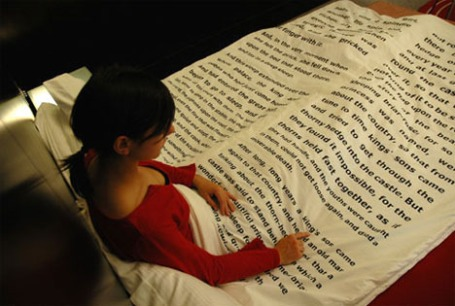 words bedspread